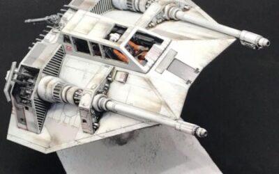 Star Wars Snow Speeder